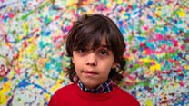 German child artist dubbed 'pre-school Picasso'
