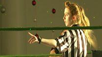 Meet Ireland's only female wrestling referee