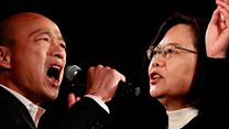 Why China is key as Taiwan prepares to vote