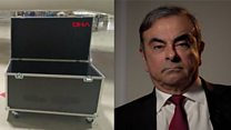 Did ex-Nissan boss really escape Japan in a box?