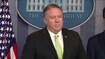 Pompeo: Threat included 'attacks on US embassies'