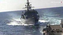 Umman Denizi'nde Rus-ABD manevrası