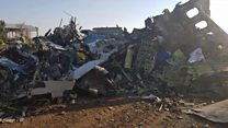 Ukraine: Missile struck plane underneath cockpit