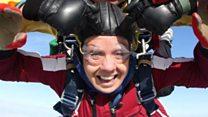 'Geriatric traveller' won't let Parkinson's stop her