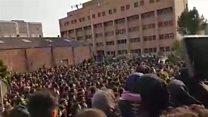 ادامه اعتراضهای ضد حکومتی در چند شهر ایران