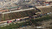 تحقیق بی بی سی فارسی درباره منطقه ای که هواپیمای اوکراینی با موشک پدافند سپاه در آن ساقط شد