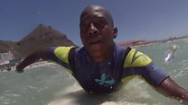 'When I'm surfing, I feel like everything is possible'