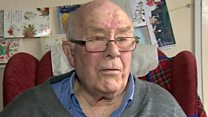 Raw sewage 'traps pensioner in home'