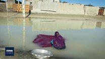 سیل در سیستان و بلوچستان ایران در سکوت خبری سرنگونی هواپیمای اوکراینی