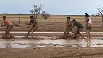 Rain relief in Australia