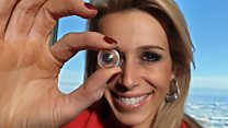 Neat contact lens: 'It feels seriously sci-fi' thumbnail