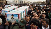 حادثه هواپیمای اوکراین؛ خاکسپاریهایی که تلویزیون دولتی پخش نکرد