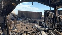 Melihat ke dalam Al Asad: Markas militer AS di Irak yang diserang rudal Iran