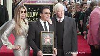 گفتگو با اندی پس از رونمایی از ستارهاش در هالیوود