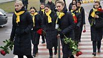 پیکر خدمه هواپیمای اوکراینی از تهران به کییف فرستاده شد