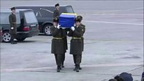 Ukrainian victims of Iran plane crash return home