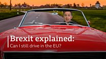 Brexit explained: Can I still drive in the EU?
