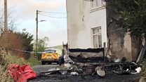 Ffair Rhos fire: 'I never want to see that again'