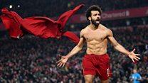 محمد صلاح يحرز هدفه الأول في شباك مانشستر يونايتد