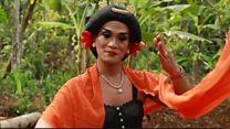 ইন্দোনেশিয়ার ঐতিহ্যবাহী নাচ লেঙ্গার লানাং