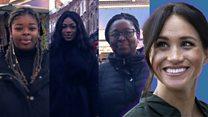 Black women speak out about Meghan