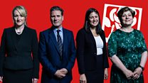 Who are the candidates for the Labour leadership?