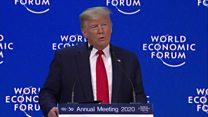 ترامپ در اجلاس داووس از عملکرد اقتصادی خود ستایش کرد