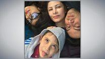 هواپیمای اوکراینی؛ مردی که دو فرزند و همسرش را از دست داد