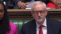 Corbyn offers to buy Johnson a vegan roll