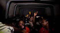 Lagos' nightclub minibus