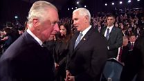 Prince Charles snubs US Vice-President Pence