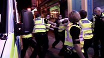 Attacks on police officers almost triple