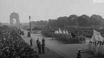1952 के गणतंत्र दिवस की कुछ झलकियाँ