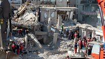 افزایش آمار کشته شدگان زلزله ترکیه