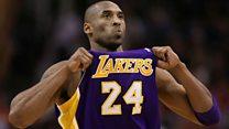 El mundo del deporte rinde tributos a la leyenda del baloncesto Kobe Bryant