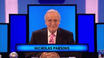 'The subject is... Nicholas Parsons'