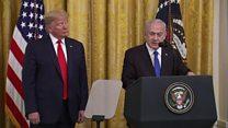 Netanyahu: Trump peace plan 'deal of the century'