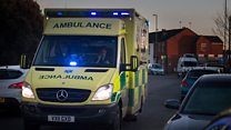 Ambulances waiting system 'beyond a joke'