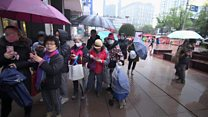 Shanghai face mask shortage