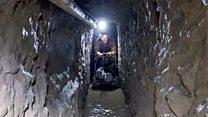 El kilométrico túnel de contrabando encontrado en la frontera entre México y Estados Unidos
