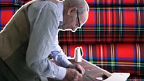 Tailor makes Burns Night waistcoats in his care home