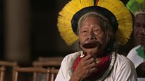 The 90-year-old leader trying to save the Amazon
