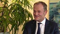 Tusk: 'Empathy' towards Scotland joining EU
