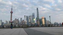 Shanghai streets empty due to coronavirus outbreak