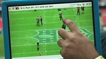 NFL: How tablets are transforming the sport