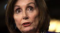 Pelosi defends tearing up Trump's speech