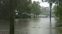 Heavy floods sweep through New South Wales