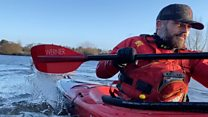 The River Bann's kayaking litter-picker