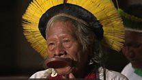 'Sitakubali' –  Kikongwe aliyeapa kulinda msitu wa Amazon
