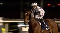 The jockey galloping into the history books